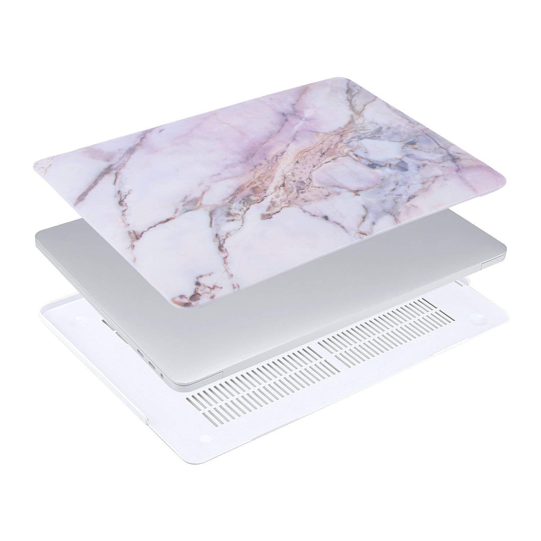 Rojo Ultra Delgado Carcasa R/ígida Protector de Pl/ástico Cubierta MOSISO Funda Dura Compatible 2018 2017 2016 MacBook Pro 15 Pulgadas con Touch Bar A1990 A1707