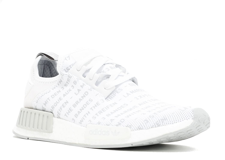 Adidas NMD R1 'Three Stripes' S76518 Size 9 White, Black