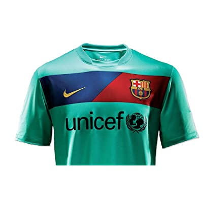 10-11 Barcelona Away Jersey-XL
