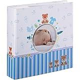 Hama Tim fotografía, álbum para Pegar Fotos, Azul y Blanco, Color, 22,8 x 22,20 x 5cm