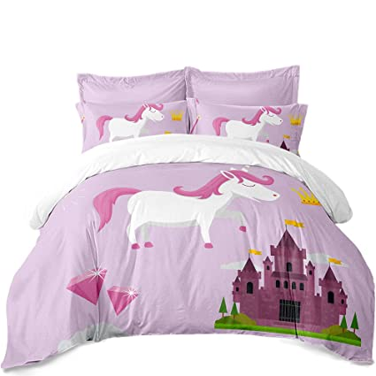 Merveilleux Unicorn Bedroom Decor 3D Bedding Sets Twin Duvet Cover Bedloth Bed  Cover,Home Decor,