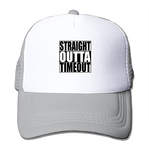 af4af80e323fa Li2u-id Straight Outta Timeout.PNG Toddler Cap Adjustable Baseball Hat Mesh  Hat