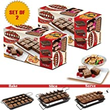 Allstar Marketing Group Pb011106 Perfect Brownie Pan Set As Seen On Tv