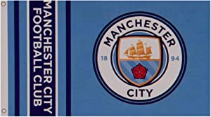 Manchester City FC Authentic EPL Flag