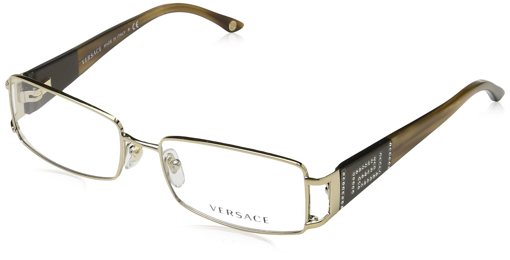 Versace Women's VE1163B Eyeglasses Platinum 52mm