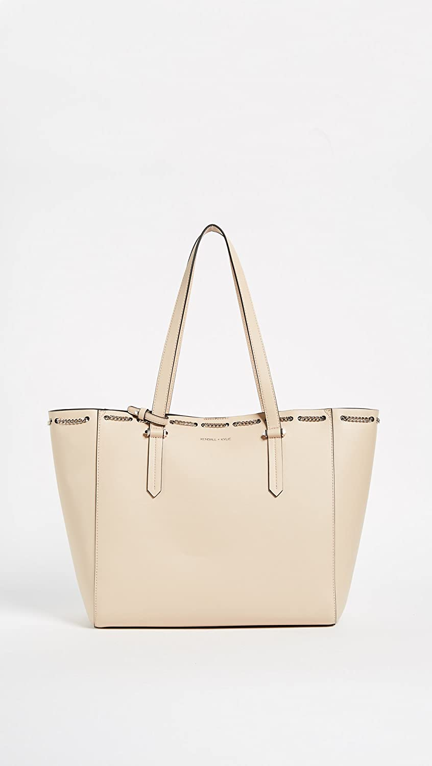 f5b35f7c39d1e KENDALL + KYLIE Women's Izzy Tote, Cream Tan, One Size: Amazon.ca ...