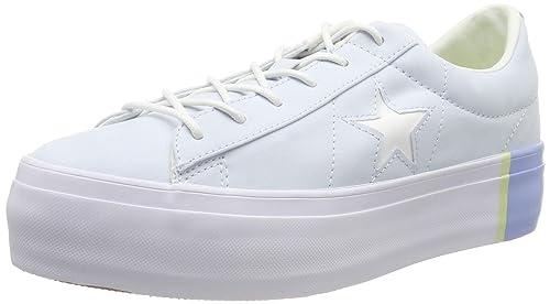 Converse Lifestyle One Star Platform Ox Textile, Chaussures