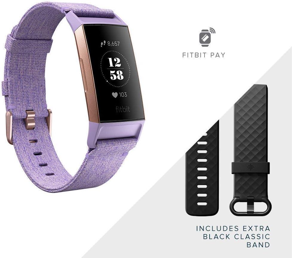 Fitbit Charge 3 Special Edition Activity Tracker Lavender Vowen Drogerie Körperpflege