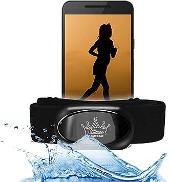 Bestbeans Heartbeat 2021 Swim Triathlon Bluetooth Low Energy Ant Herzfrequenzmesser Kompatibel Mit Runtastic Wahoo Sensor Für Garmin Polar Fitnessstudio Schwimmen Sport Freizeit