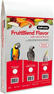 product image for ZuPreem AvianMaintenance FruitBlend Bird Diet for Large Birds 17.5 pounds