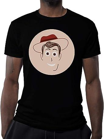 Famous Animation Story Cowboy Character Camiseta para Hombre: Amazon.es: Ropa y accesorios