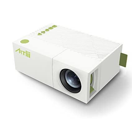 Mini Projector, Artlii Fun Home Theater Support 1080P Video Projector