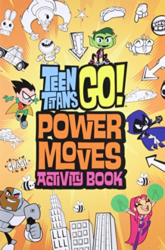 Teen Titans Go Power Moves Activity Book - Import It All-6885