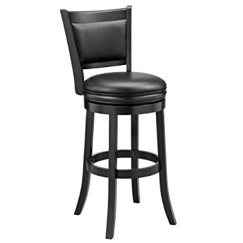 Awesome Ball Cast Bar Stool 29 Black Gamerscity Chair Design For Home Gamerscityorg