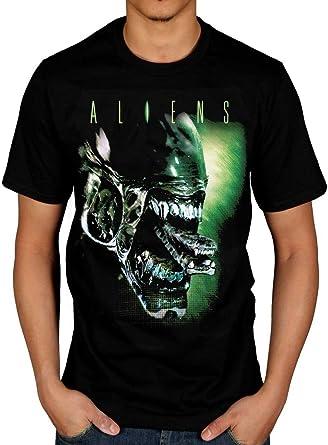 Aliens Space Aliens Licensed Adult T-Shirt