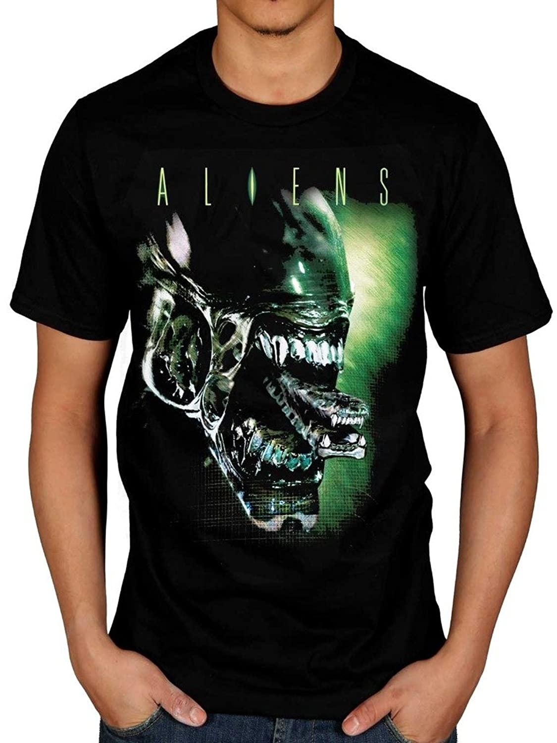 Men's Official Alien Head T-Shirt