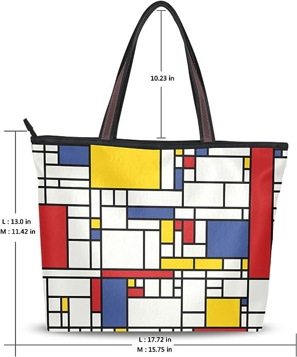 MONTOJ Nature Landscape Art Pattern Handbags Shoulder Bag