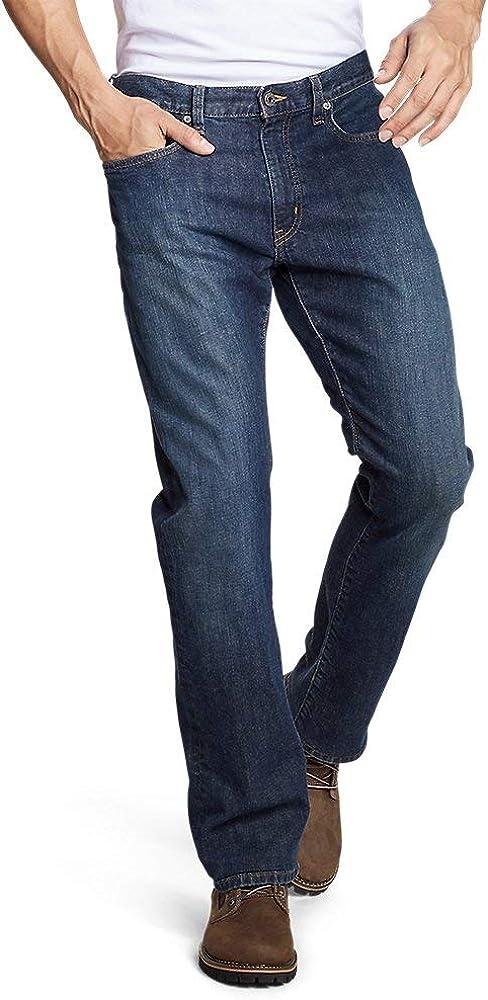 River Rock Tall 38//34 Eddie Bauer Mens Flex Jeans Straight Fit