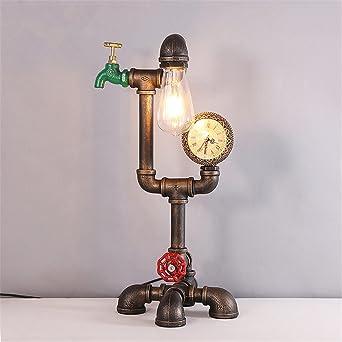 BING. Retro. Viento industrial. Creativo. Lámpara antigua ...