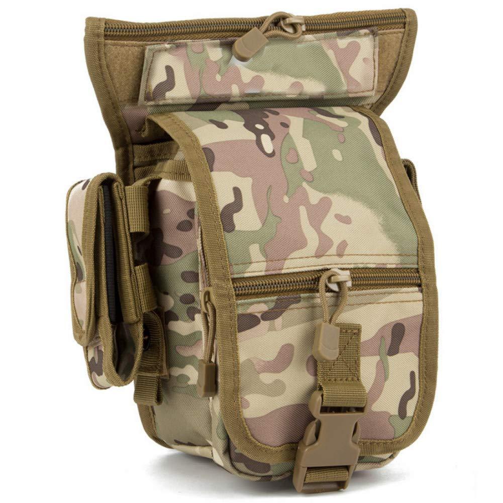 CP  FJYBOA Sac à Dos   Sacs de Taille Militaire Camouflage Hanche Sac Randonnée Camping Sports Chasse Taille Sacs Hommes Sac de Sport Tactique Ceinture Poche