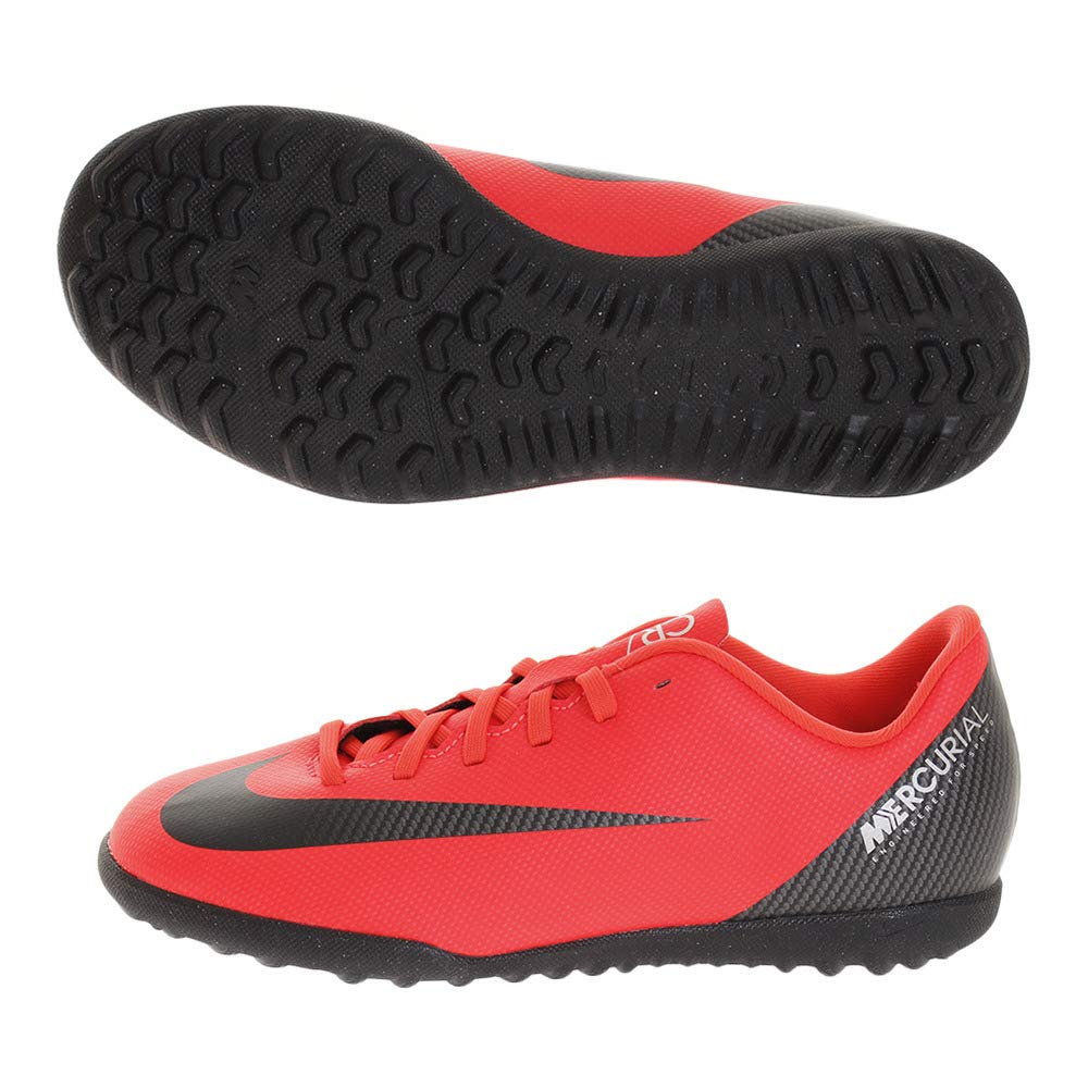 Nike Jr Vaporx 12 Club Gs Cr7 Tf - bright crimson schwarz-chrome, Größe 2Y