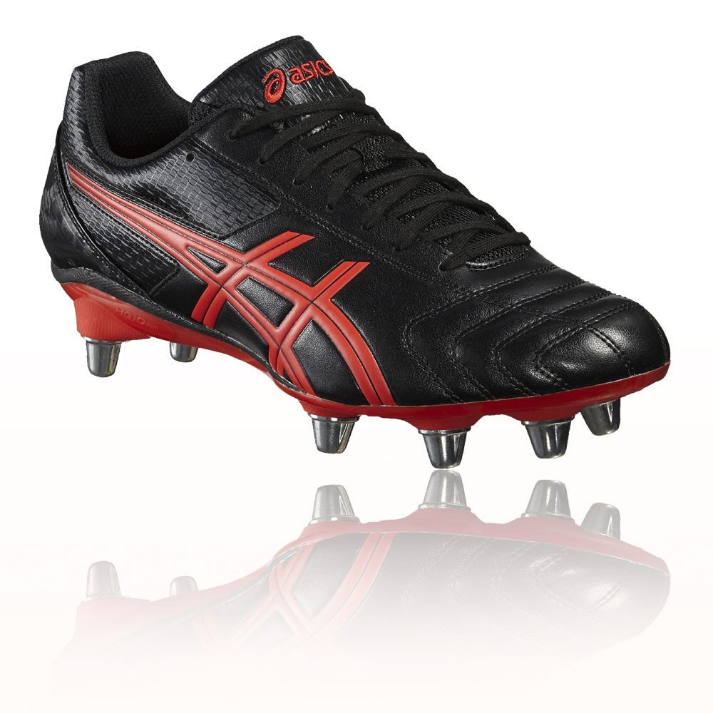 ASICS Lethal Tackle Rugby Boots - SS17-8.5 - Black
