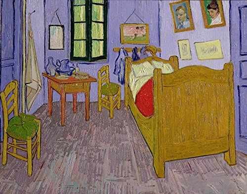 van Gogh Van Gogh's Bedroom at Arles 1889 Glossy Poster