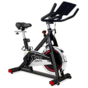 JOROTO Indoor Cycling Bike Stationary - Professional Exercise Bike Stationary Bike for Home Cardio Gym Workout