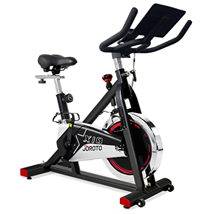6e2e6892f JOROTO Belt Drive Exercise Bike - Indoor Cycling Bike Stationary for Home Gym  Workout
