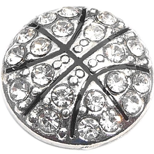 - Silver Bling Basketball Floating Locket Charm