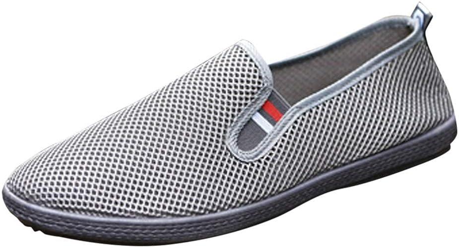 Espadrilles Slip On Schuhe Faule Schuhe Lofer Abendschuhe Breathable Männer Mesh Herren Freizeitschuhe Fahrboot BootschuheFlache Sportschuhe Casual rQdCoWxBe
