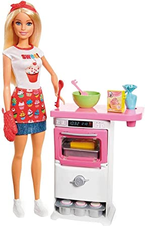 Amazon Es Barbie Y Su Pasteleria Muneca Con Accesorios Mattel