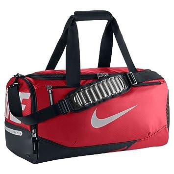 Nike Vapor Max Air Small Duffle Bag (Small, University Red/Black/Metallic