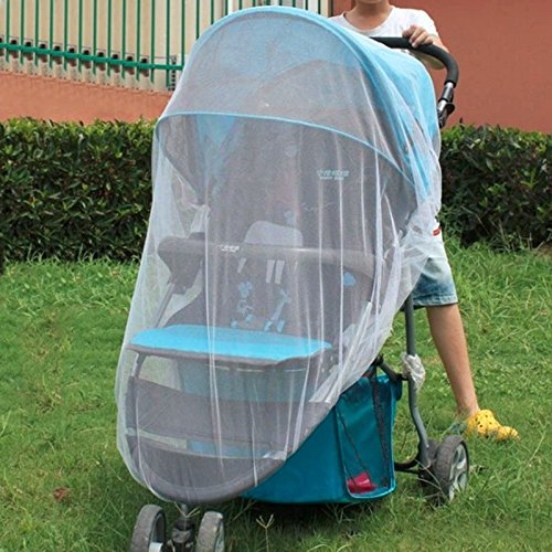 Unilever9 - Summer Baby Children Buggy Pram Pushchair Mosquito Net Fly Midge Insect Bug Cover Stroller Protection Mesh Stroller Accessories by Unilever