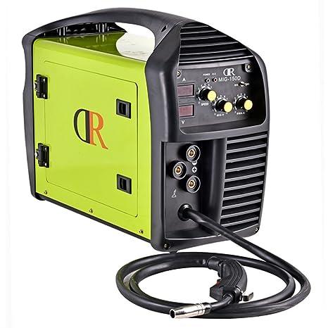 Drico mig-150d multifunción soldador Mig/MMA/Stick 120/230 V Voltaje