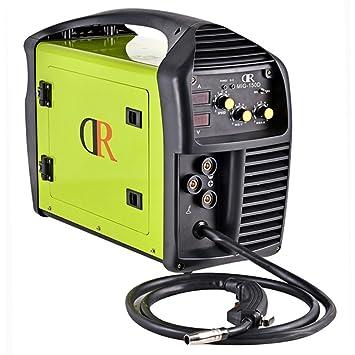 Drico mig-150d multifunción soldador Mig/MMA/Stick 120/230 V Voltaje Dual IGBT soldadura soldadura máquina: Amazon.es: Juguetes y juegos