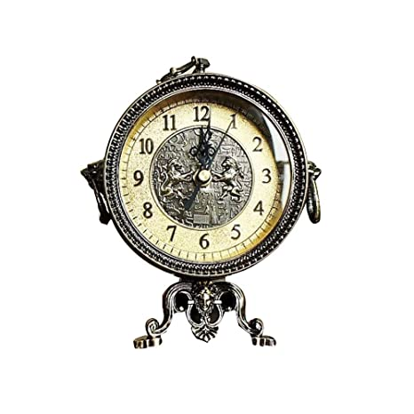 GongDi Reloj de Mesa Mantel Relojes de Metal de una Sola ...