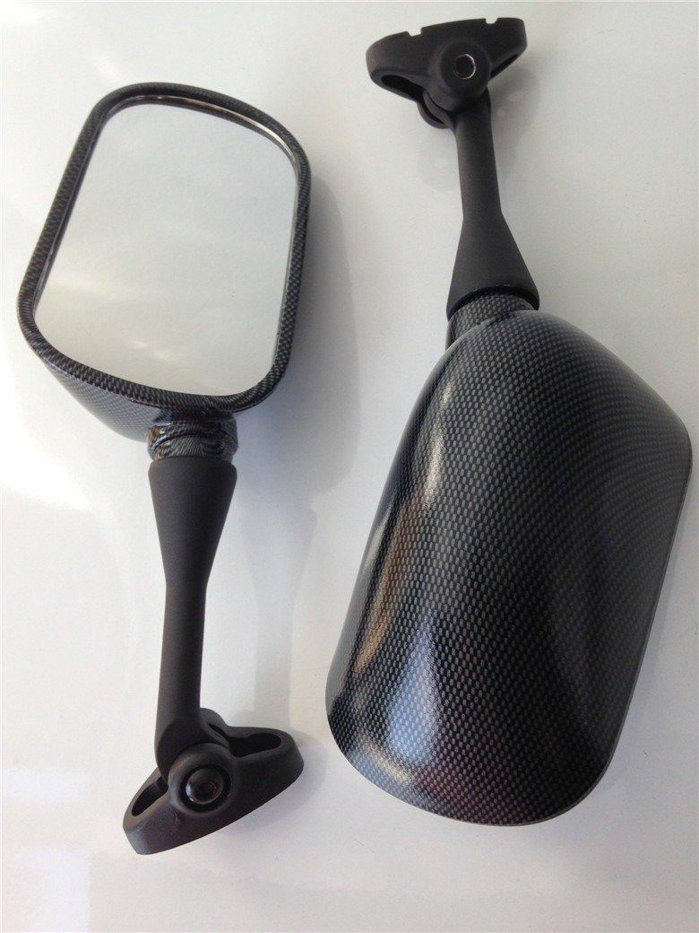 HTT Group Motorcycle Black Oem Aftermarket Mirrors Fit For 2003-2012 Honda Cbr 600Rr //2004-2007 Honda Cbr1000Rr
