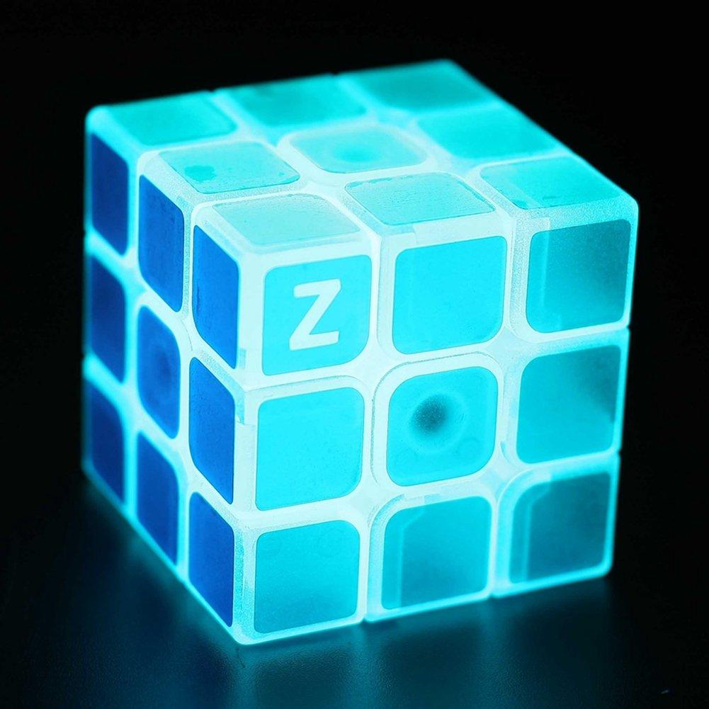 (Blue 3x3) - Twister.CK Toys Glow Twister.CK Cool Magic Cube 3x3 Speed Cube Glow In Dark Speed Cube Brain Teasers Puzzles Toys Blue 3x3 B06XBYV2N7, 枝幸郡:e0d21468 --- m2cweb.com