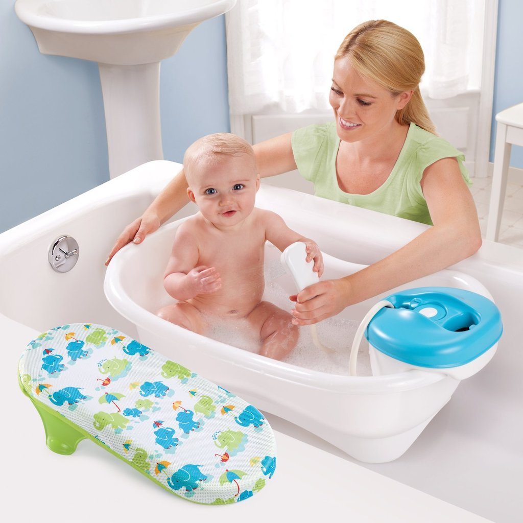 Amazon.com : Summer Infant Newborn-To-Toddler Bath Center & Shower ...