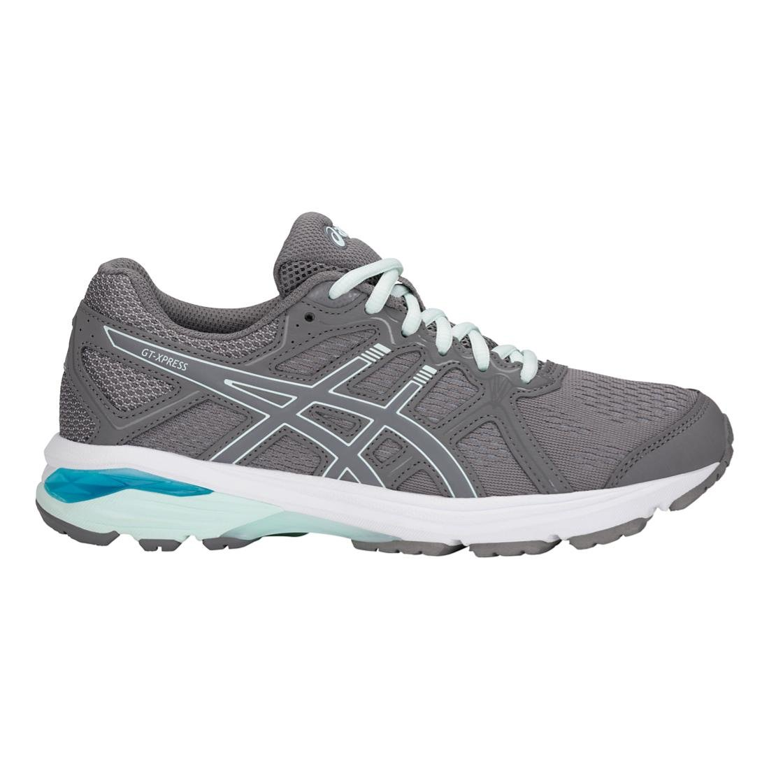 ASICS Women's GT-Xpress Running Shoe B077NHJGWZ 6.5 D US|Carbon/Soothin Sea