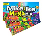 Mike and Ike Merry Mix Candy Box - Each box is 5 oz Merry Mix Chewy Candies - Flavors include Lime - Cherry - Holiday Punch - Made with Real Fruit Juice! - Great Christmas Candy Stocking Stuffer Gifts