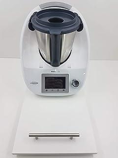Thermodernizate Tabla Transportadora para Monsieur Cuisine Connect Modelo Blanco: Amazon.es