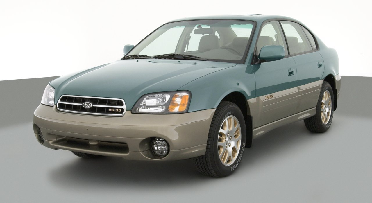 2003 Subaru Outback, 4-Door Outback H6-3.0 Automatic Transmission ...