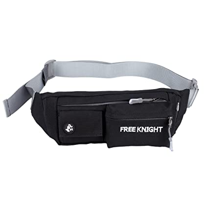 616f8a5bfdc2 Freeknight Water Resistant Waist Pack Bumbag Fanny Pack Hip Belt Bag Pouch  Money Pouch for for Running Hiking Cycling Climbing Camping Travel
