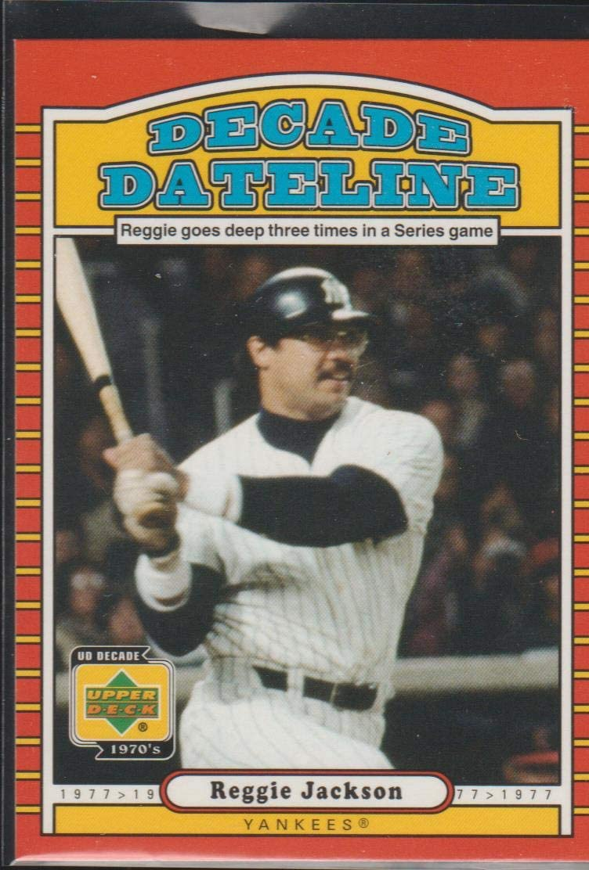 2001 Upper Deck Reggie Jackson Yankees ...