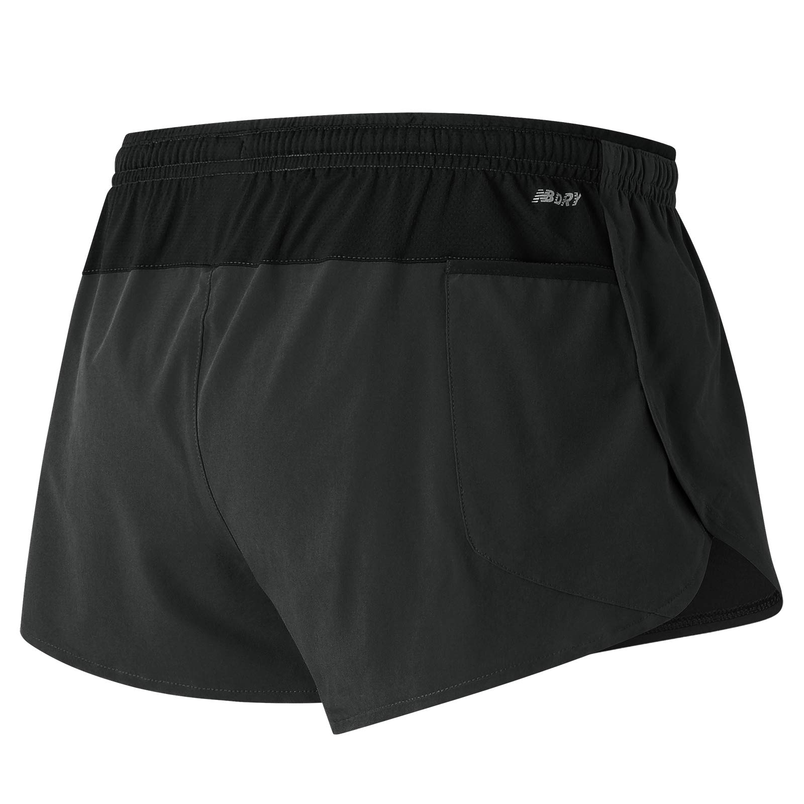 New Balance Impact Split Short 3in, Black, Small by New Balance (Image #3)