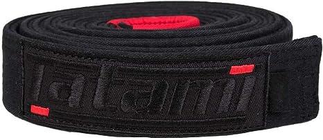 Negro Unisex Adulto Tatami Fightwear DLX-blk-Belt-A3 Deluxe BJJ Cintur/ón Talla /única
