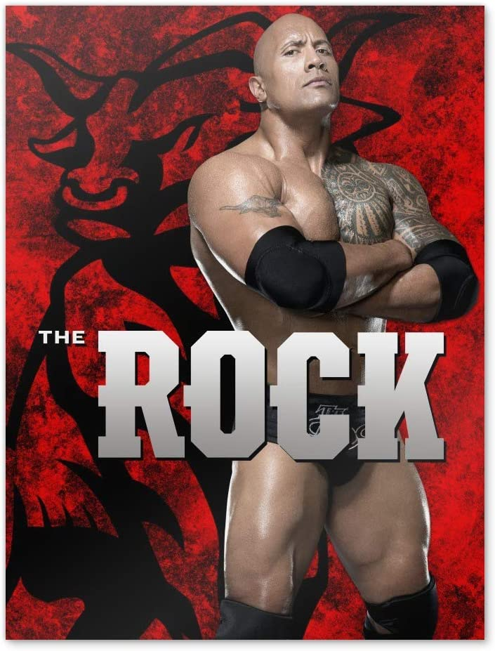 GRAPHICS & MORE WWE The Rock Bull Home Business Office Sign