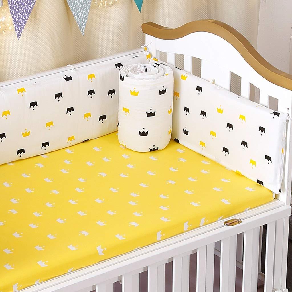ヘッドガード付き赤ちゃんのベッドのための保護の周りのベビーベッドバンパーラップ (色 : C, サイズ さいず : 140×70cm) 140×70cm C B07S4JCYCK